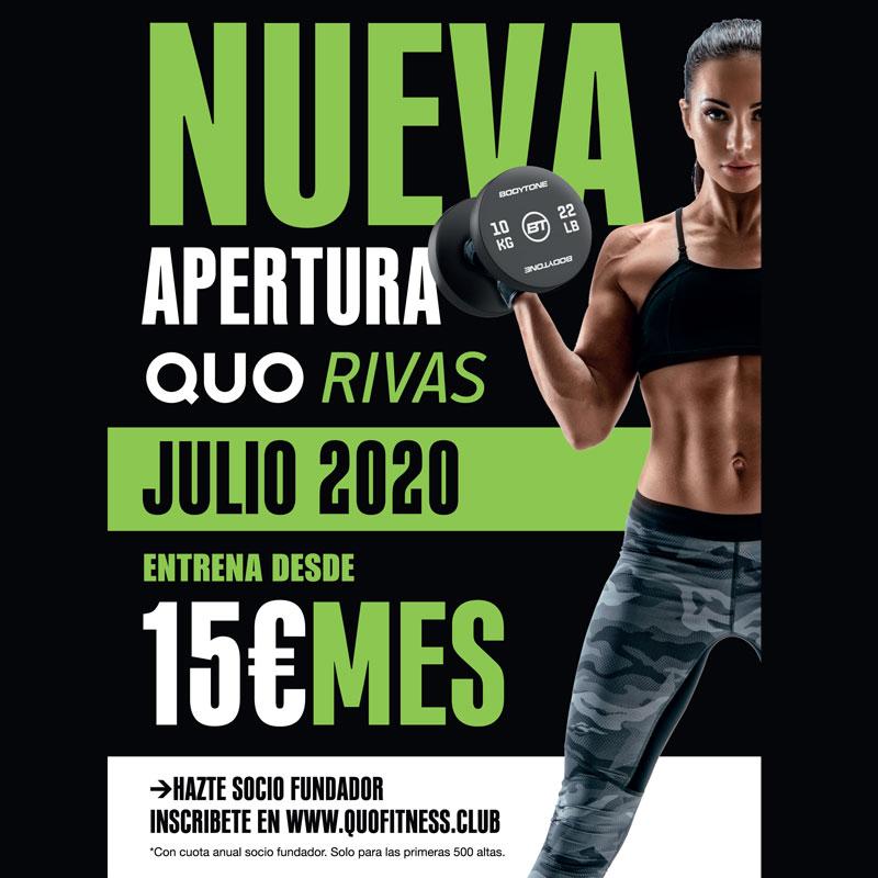Quo Fitness en Rivas Vaciamadrid